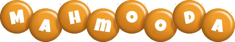 Mahmooda candy-orange logo