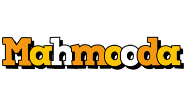 Mahmooda cartoon logo