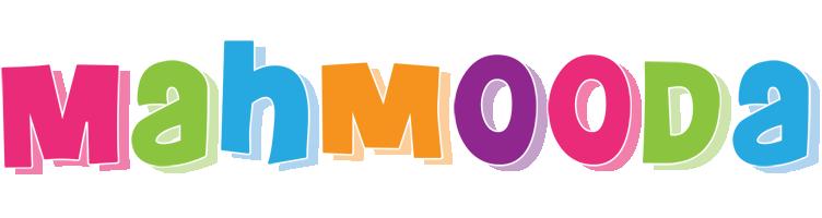 Mahmooda friday logo
