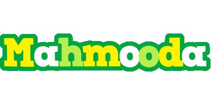 Mahmooda soccer logo