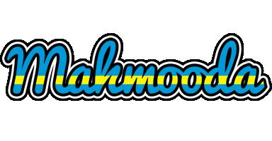 Mahmooda sweden logo