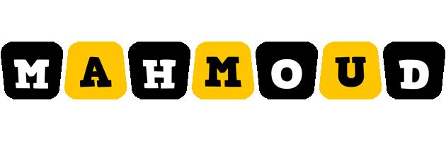 Mahmoud boots logo