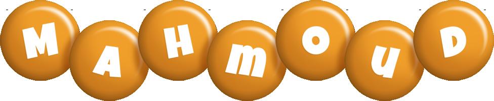 Mahmoud candy-orange logo