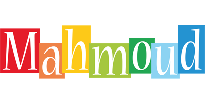 Mahmoud colors logo