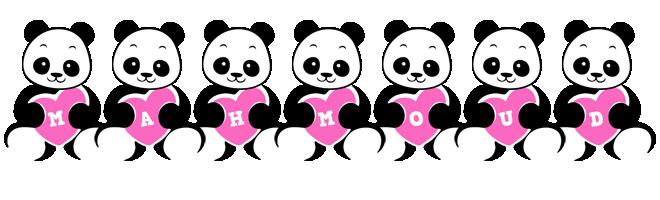 Mahmoud love-panda logo