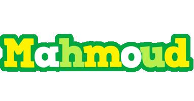 Mahmoud soccer logo