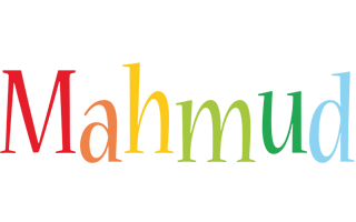 Mahmud birthday logo