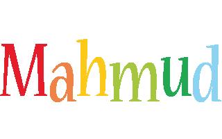 Mahmud birthday logo