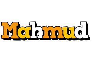 Mahmud cartoon logo