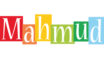 Mahmud colors logo