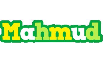 Mahmud soccer logo