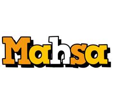 Mahsa cartoon logo