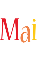 Mai birthday logo