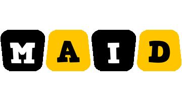Maid boots logo