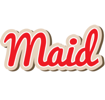 Maid chocolate logo