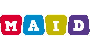 Maid daycare logo