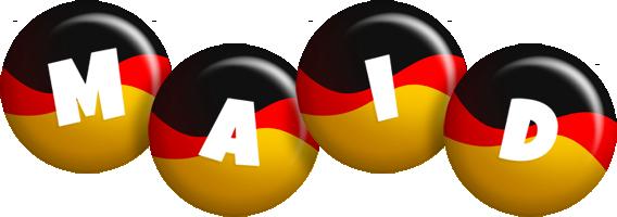 Maid german logo