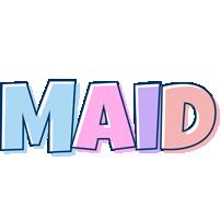 Maid pastel logo