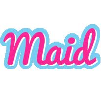 Maid popstar logo