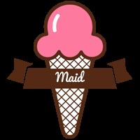 Maid premium logo