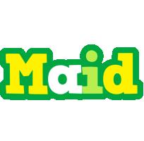 Maid soccer logo