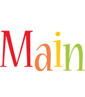 Main birthday logo