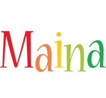 Maina birthday logo
