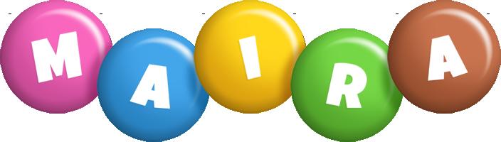 Maira candy logo