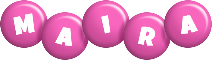 Maira candy-pink logo
