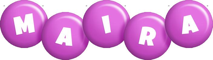 Maira candy-purple logo
