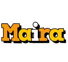 Maira cartoon logo