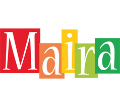 Maira colors logo