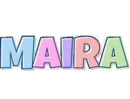 Maira pastel logo