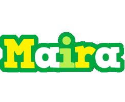 Maira soccer logo