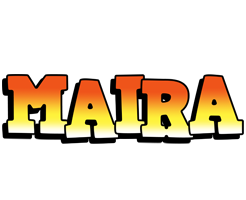 Maira sunset logo