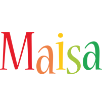 Maisa birthday logo