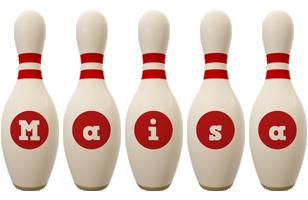 Maisa bowling-pin logo