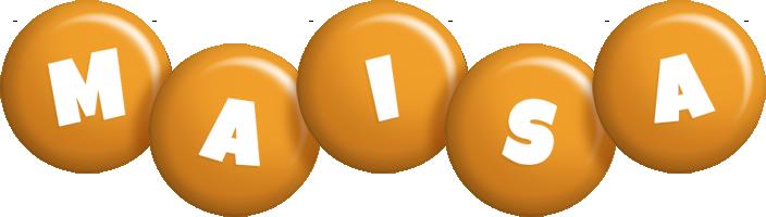 Maisa candy-orange logo