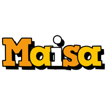 Maisa cartoon logo