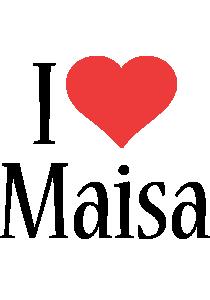 Maisa i-love logo