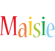 Maisie birthday logo