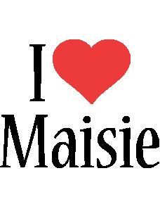 Maisie i-love logo