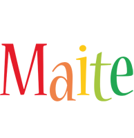 Maite birthday logo