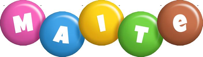 Maite candy logo