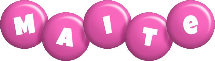 Maite candy-pink logo