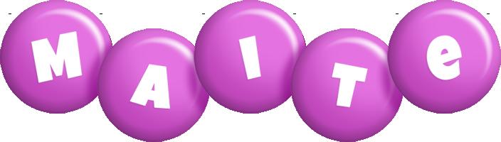 Maite candy-purple logo