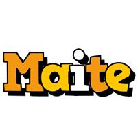 Maite cartoon logo