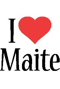 Maite i-love logo