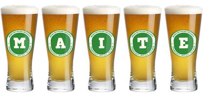 Maite lager logo