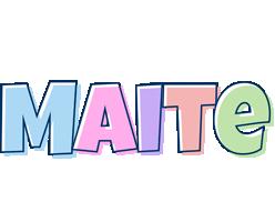 Maite pastel logo